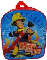 Brandweerman Sam Brave To The Core Rugzak - Blauw