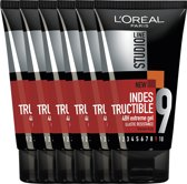 L'Oréal Paris Studio Line Indestructible 48H Extreme Gel - 6 x 150 ml - Gel - Voordeelverpakking