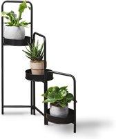 Lifa Living plantenbak Rose metaal zwart 3-delig