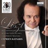 Beethoven/Liszt: Symphonies 4 & 5, Benediction De