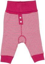 Minymo - newborn baby joggingbroek - model Chin - roze - Maat 62