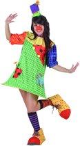 Clown pak voor dames - Verkleedkleding - One size