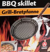 ComfortTrends BBQ Collection Grillpan Ø 23 cm - Groentes en vlees