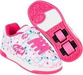 Heelys Rolschoenen Dual Up White - Sneakers - Kinderen - Maat 30 - Meisjes - Wit/Pink Multi