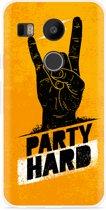 LG Nexus 5X Hoesje Party Hard 2.0