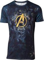 Avengers: Infinity War - Team Sublimation Print - T-Shirt - XXL