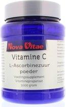 Nova Vitae Vitamine C Ascorbinezuur - Poeder - 1000 gr - Vitaminen