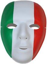 Masker rood/groen/wit