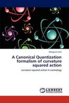A Canonical Quantization Formalism of Curvature Squared Action