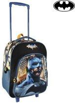 Batman Rugzak Kinderkoffer - 45 cm - Zwart