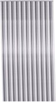 Deurgordijn zwart/wit/grijs 90 x 200 cm