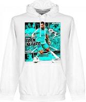 Real Madrid Hazard Comic Hoodie - Wit - L