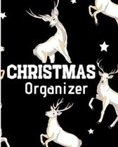 CHRISTMAS Organizer: Flexible easy wipe-clean matte cover perfectly sized 8X10 inches, 100 pages with beautiful layouts with inspirational
