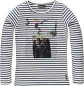Tumble 'N Dry Meisjes T-shirt - Ecru - Maat 158/164