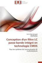 Conception d'Un Filtre LC Passe Bande Int�gr� En Technologie CMOS