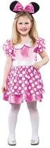 Roze muizen kostuum voor meisjes 120-130 (7-9 jaar)