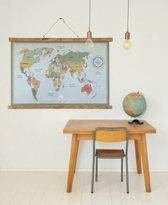 Tinkle&Cherry - Poster - Wereldkaart