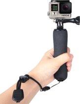 Bobber drijvende handgreep met verstelbare anti-verloren riem voor actioncamera's
