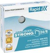 Rapid Strong Nietjes 24/8mm - 2000 stuks - Staal