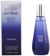 Davidoff Cool Water Night Dive 50 ml - Eau De Toilette - Damesparfum