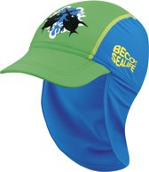 Beco Sealife Kinder zonnepet Jongens Maat 52 cm blauw groen