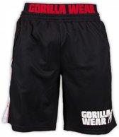 Gorilla Wear Mesh Shorts black/red - XL-XXL