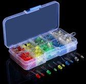 Arduino geschikte LED lampen - LED Diode lampen Arduino geschikt 375 stuks - Plastic case