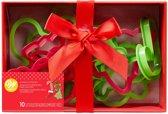 Wilton Plastic Koekjes Uitsteker Kerst Set/10