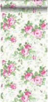 HD vliesbehang rozen roze - 138109 ESTAhome.nl