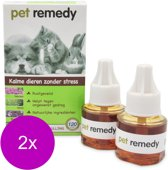 Pet Remedy Navullingen - Anti stressmiddel - 2 x 2x 40 ml