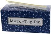 Riddersporen nylon - Voor MicroStitch en MicroTach fijn - 4,4 mm á 10.000 stuks - Wit