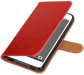 HTC Desire 825 Rood   Premium TPU PU Leder bookstyle / book case/ wallet case    WN™