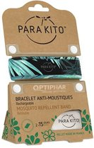 Parakito Anti-Muggen Armband Blue Tropical Jungle + 2 navullingen