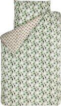 BINK Bedding Toekan dekbedovertrek Groen 1-persoons (140x220 cm + 1 sloop)