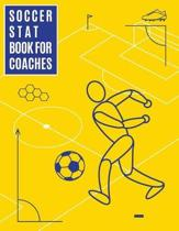 Soccer Stat Book For Coaches