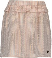 Like Flo Meisjes rokjes Like Flo Flo girls woven lurex stripe skirt roze 110