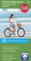 Falkplan fietskaart 31 - Zeeuws Vlaanderen