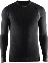 Craft Active Extreme 2.0 Cn Ls M 1904495 - Sportshirt - Black - Heren - Maat L