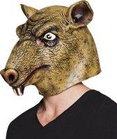 4 stuks: Masker Rat - Latex