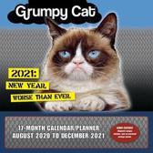 Grumpy Cat (R) - Wall Planner 2021