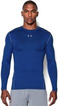 Under Armour - ColdGear Armour Crew - Blauw - Heren - maat  XXL