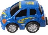 Toyrific Auto Pull Back 5,5 Cm Blauw