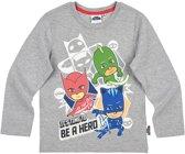 PJ-Masks-T-shirt-met-lange-mouw-grijs-maat-104