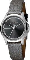 Esprit ES1L028M0025 Joy Horloge - Leer - Grijs - Ø 32 mm