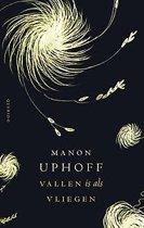 Boek cover Vallen is als vliegen van Manon Uphoff (Onbekend)