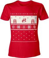 Nintendo: T-Shirt Mario X-mas Print