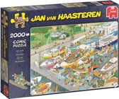 Jan van Haasteren De Sluizen Puzzel 2000 Stukjes