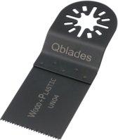 Q Blades Zaagblad standaard UN04 afmeting 34 x 40mm tbv hout en metaal