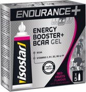 Isostar Endurance+ Energy Booster BCAA Gel Red Fruits Flavour 5 x 20 g