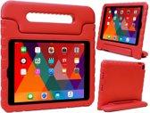 iPad 2018 Kids Proof Case Kinder Hoesje Kids Case Shock Cover - Rood